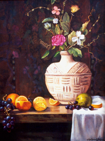 Vase With Fruit