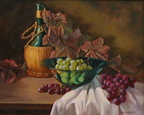 Taste the Color of Grapes